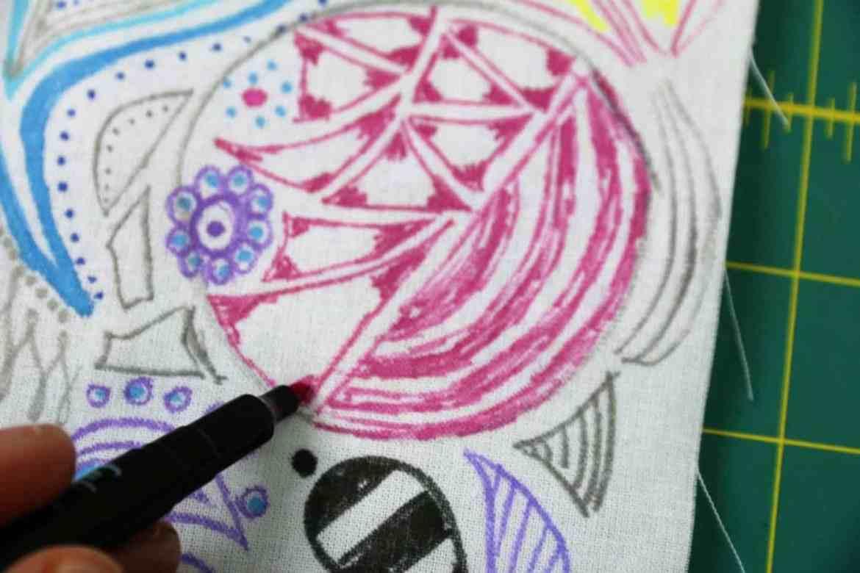 Gut bekannt Stoff mit Stoffmalfarbe bemalen: Praxis-Anleitung (getestet) IR71