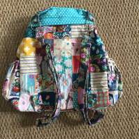 Patchwork Backpack by Sewspire