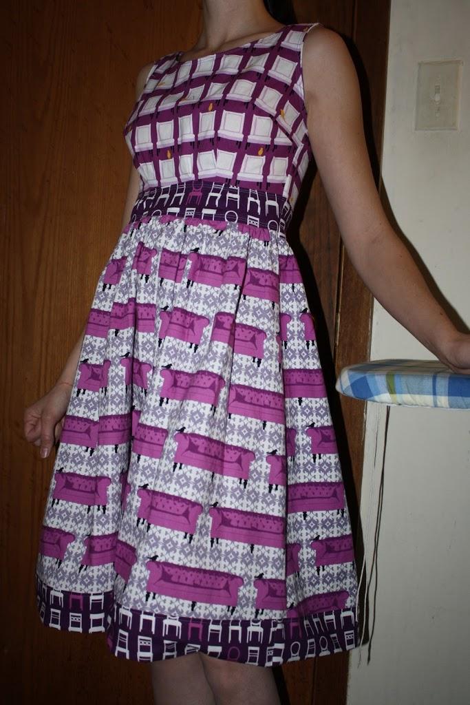 Serendipity Studio Monique Dress Sew Sweetness