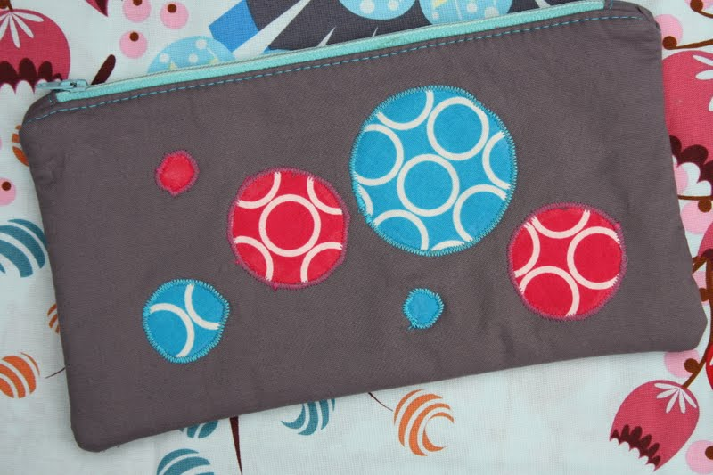 Tutorial Dirty Bubble Zippered Pouch Sew Sweetness