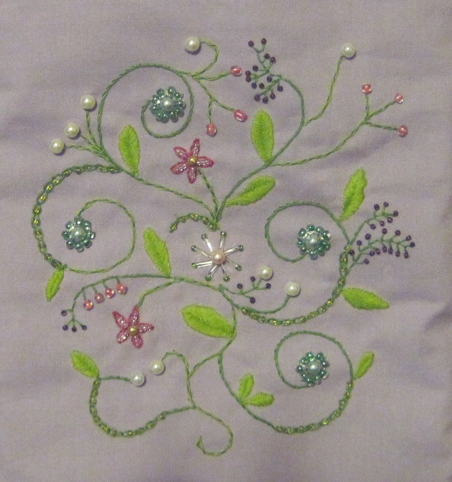 Craftsy Month Bead Embroidery Sew Sweetness