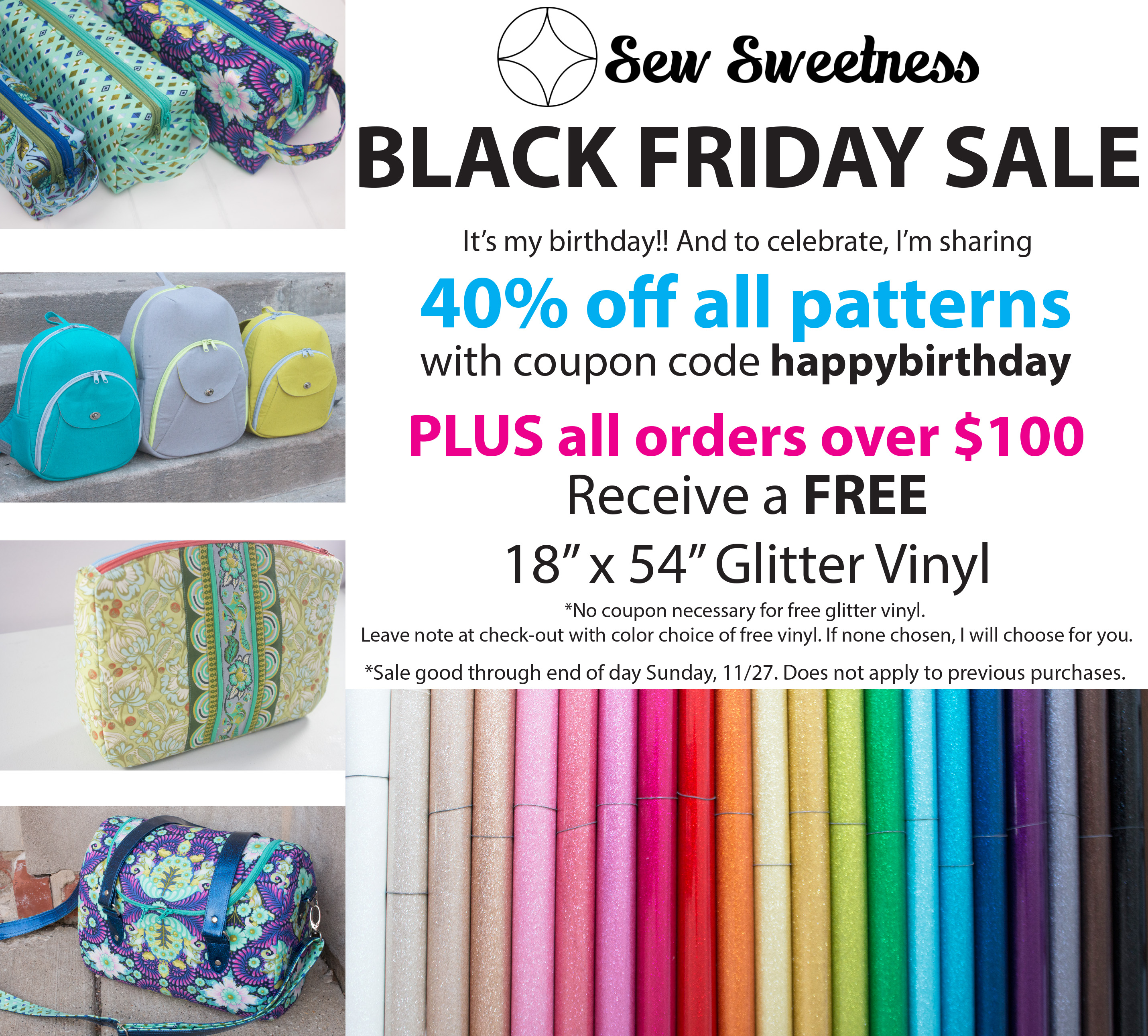 Black Friday Sales Sew Sweetness