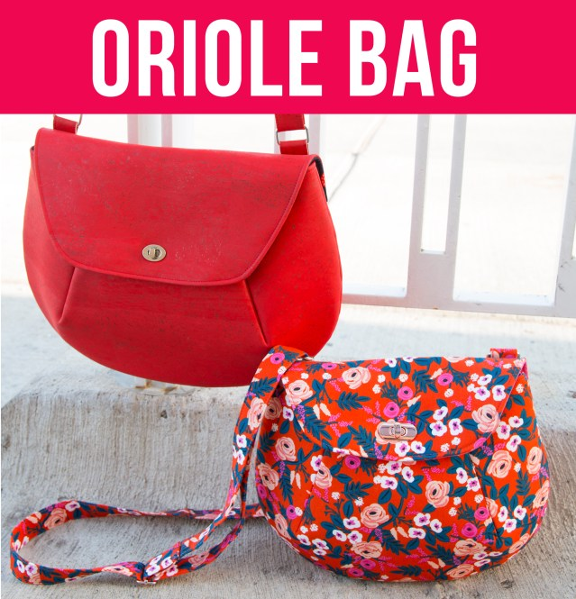 26342f0da807 VIDEO  Cork Zipper Pouch. Sew Sweetness Video+PDF Pattern  Oriole Bag
