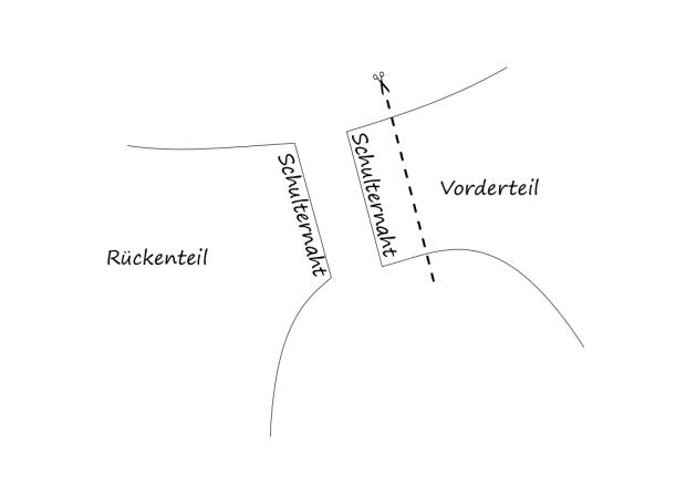 schulterdetail