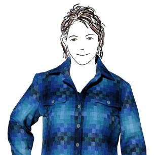 The pixel plaid shirt