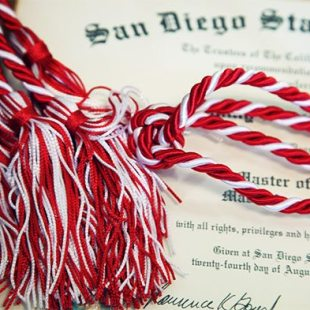 Graduation Cords and Diploma, Graduation