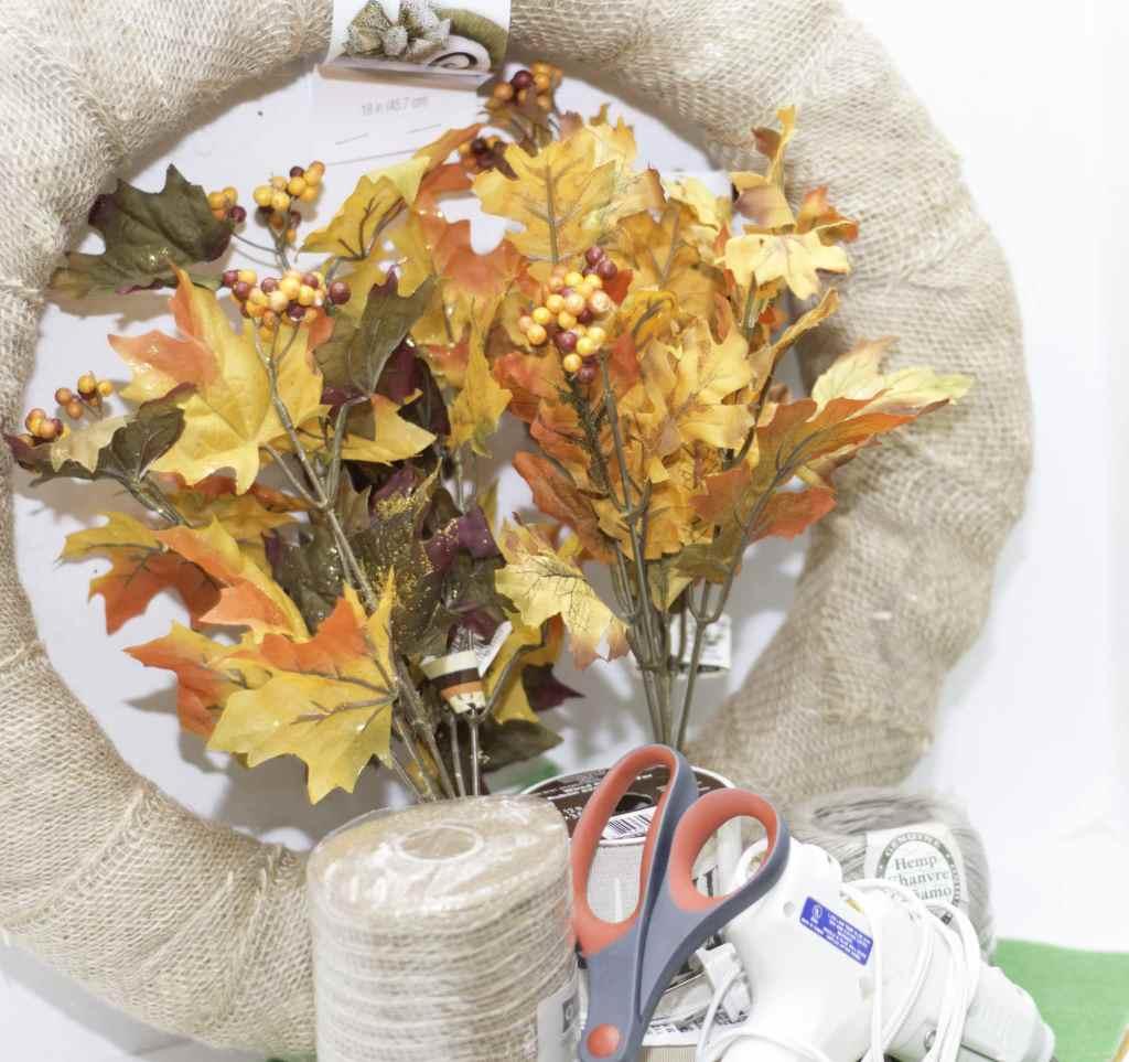 Thanks Wreath items