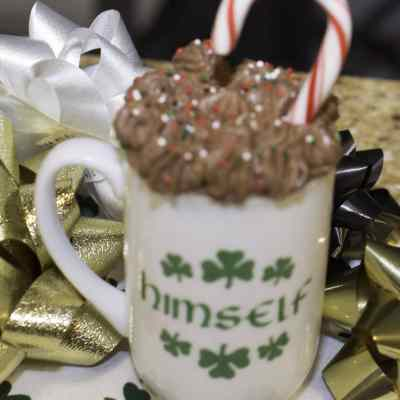 Have an Irish Christmas: Bailey's and Chocolate Mousse