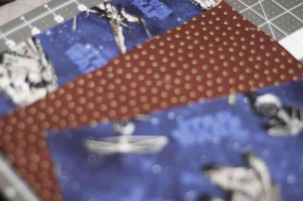 Cut Fabric - Childs Rollup Art Caddy/Makeup Brush Caddy