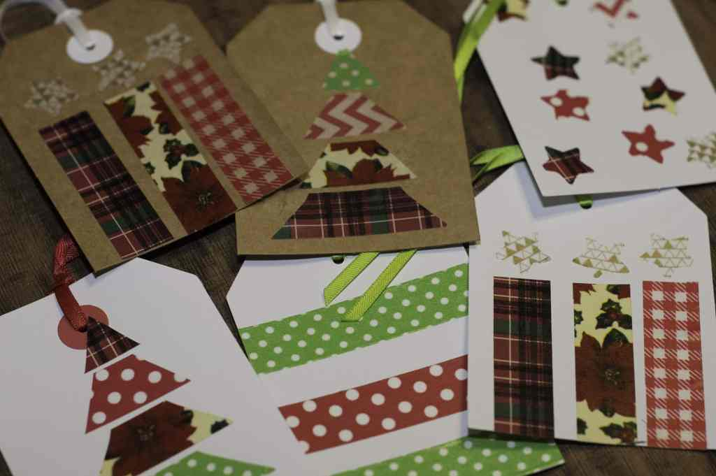 Washi Tape Gift Tags - Super Simple Christmas Gift Tags to Make