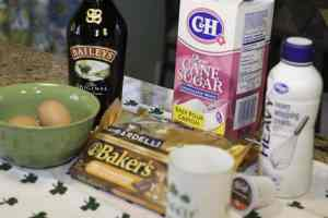 What you need for Bailey's and Chocolate Mousse - Have an Irish Christmas: Bailey's and Chocolate Mousse