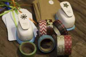 Things You Will Need for Washi Tape Gift Tags - Super Simple CHristmas Gift Tags to Make