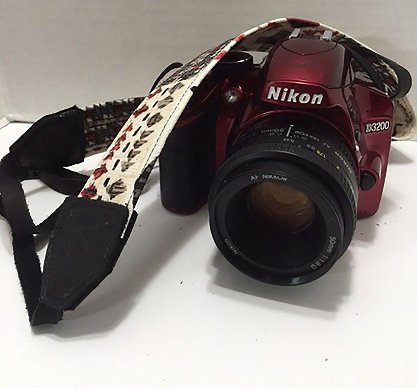 Camera and Strap, Easy DSLR Camera Strap