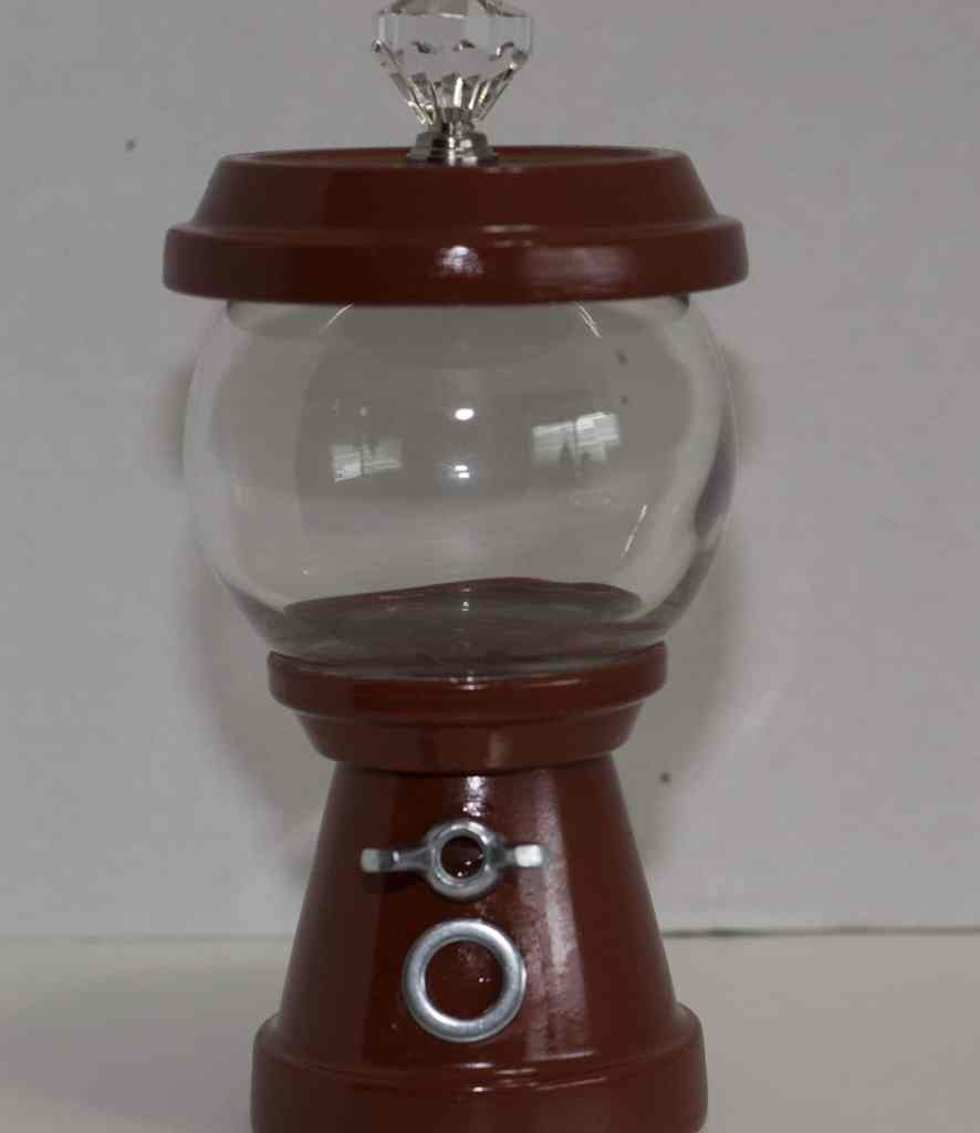 Finished-Gumball-Machine-without-Candy-886x1024 DIY Gumball Machine
