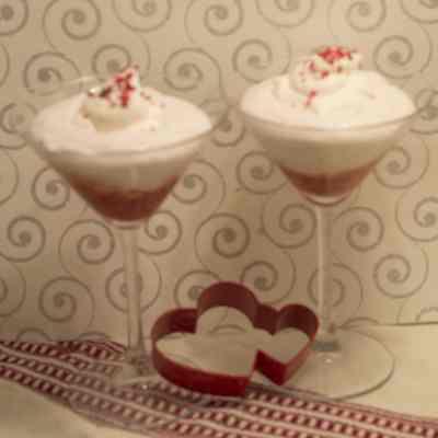 Creamy Strawberry Mousse Dessert