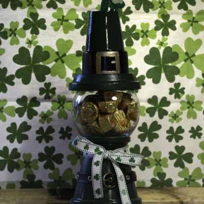How to make a St. Patrick's Day Gumball Machine