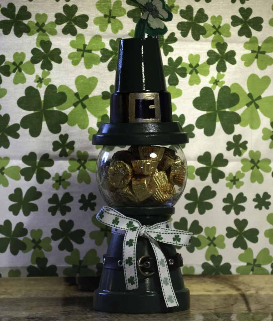 St. Patrick's Day Gumball Machine