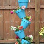 Blue-planter-150x150 Tipsy Topsy Turvy Garden Pots