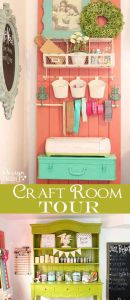 Door Craft Storage, Spring Organizing Secrets
