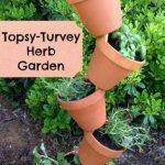 Topsyturvyherbgarden-150x150 Tipsy Topsy Turvy Garden Pots