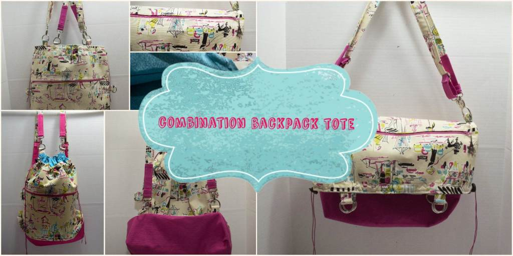 Combination Backpack Tote