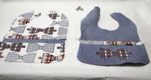 Front-and-Back-of-Bibs-300x159 Create New Looks From Old Jeans