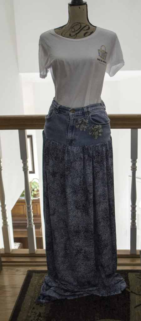 Jeans Skirt, Create New Looks From Old Jeans