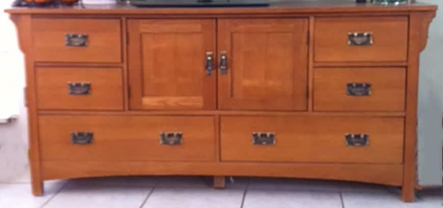 Original Cabinet, Transform dated furniture using paint