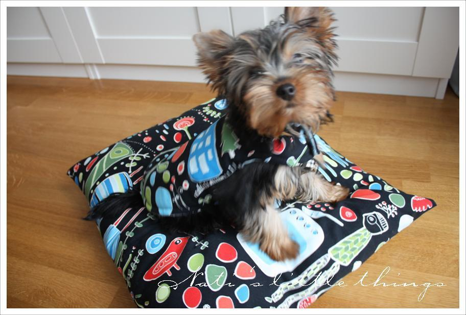 Puppy Travelling Kit from Nat's Little Things, Pet Pattern Tutorials