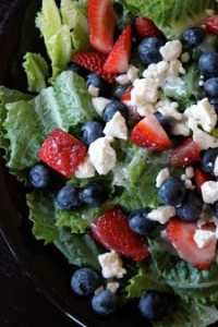 4th of July Salad, July 4th party