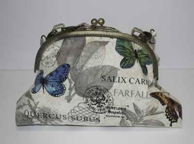 Butterfly Bag, Butterfly Pocketbook Clutch