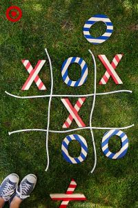 Tic Tac Toe, July 4th Party