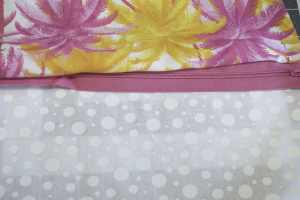 Sandwich the Zipper between the Outer Fabric and the Lining, Great Gertie Dress, Headband, Handbag