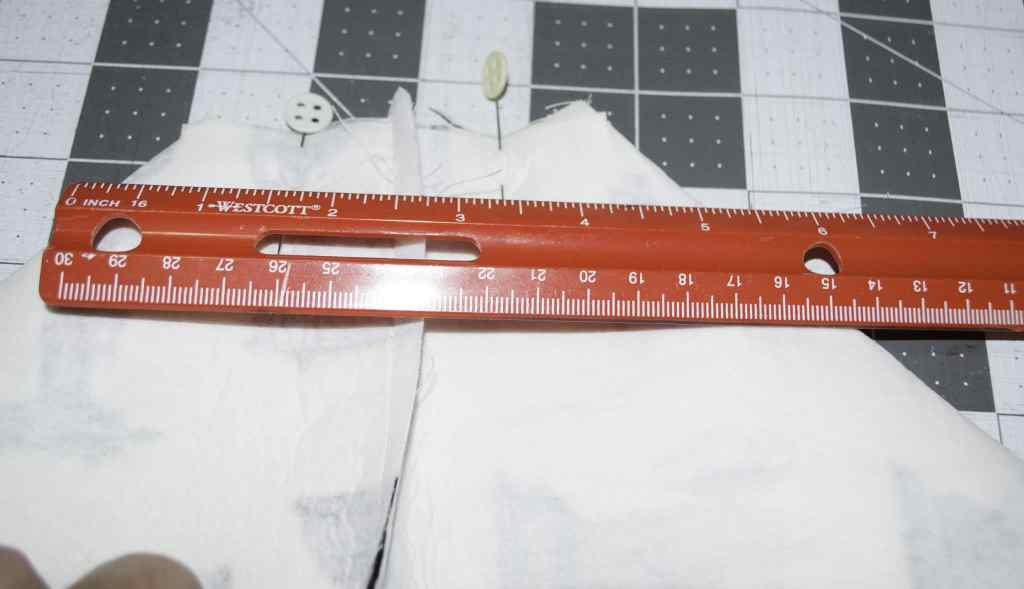 Measure 5 Inches Across, DIY Sewewrs Tote Tutorialk