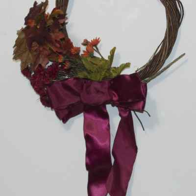 5 Minute Autumn Wreath