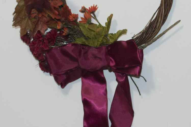Finished 5 Minute Wreath