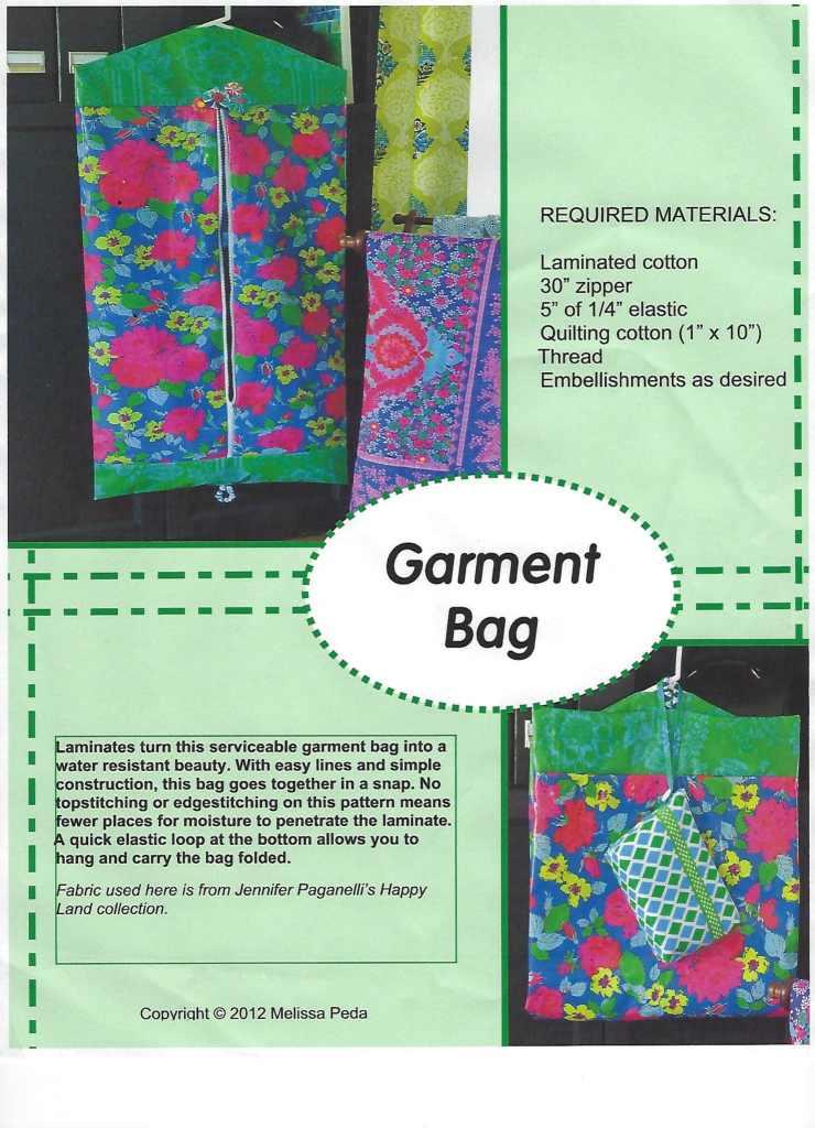 Easy DIY Garment Bag