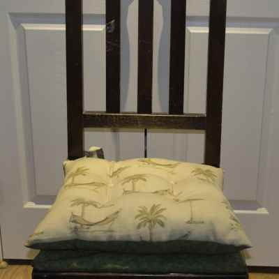 Easy Sew Reversible Chair Pad