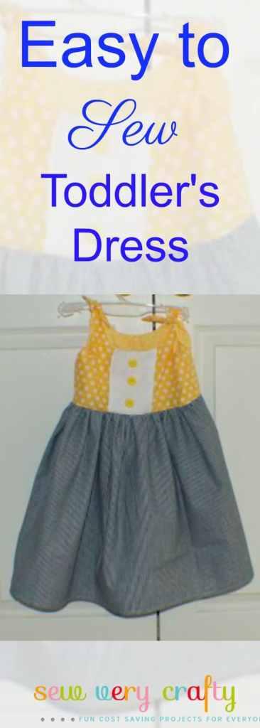 Easy to make toddler dress