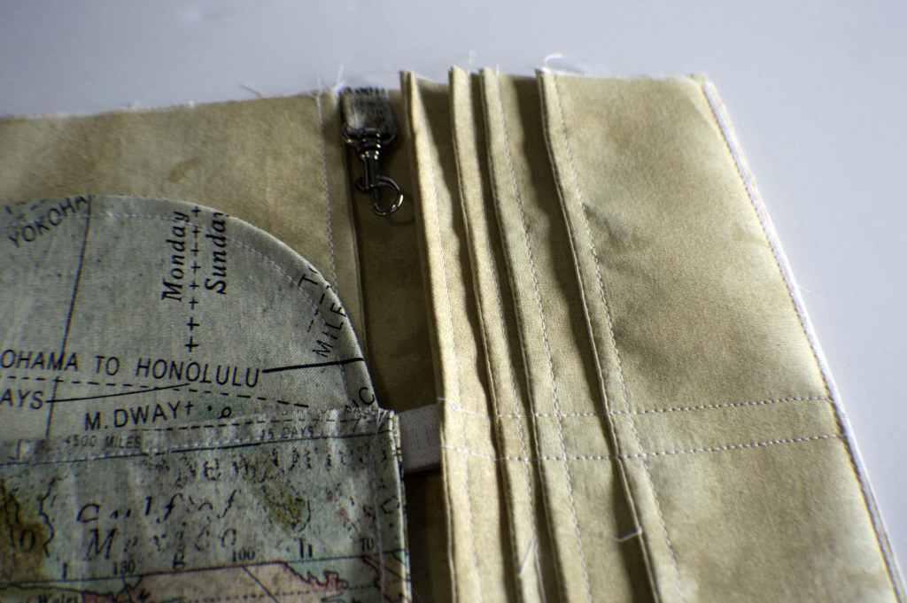 Free DIY Passport Wallet Pattern