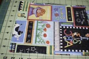 Add-the-back-piece-to-the-front-piece-right-sides-together-300x200 DIY Three Ring Binder Pencil Case