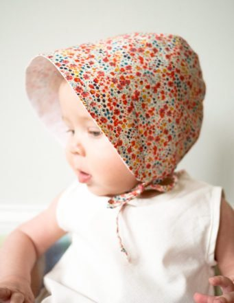 Easy Make Free Baby Bonnet Pattern