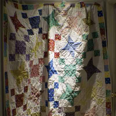 My first and probably last quilt