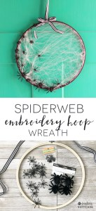 embroidery-hoop-spider-wreath-137x300 Halloween Around the Web