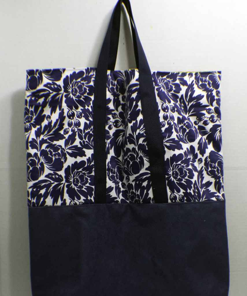 Finished-Bag-855x1024 Sew a Basic Tote Using Remnants
