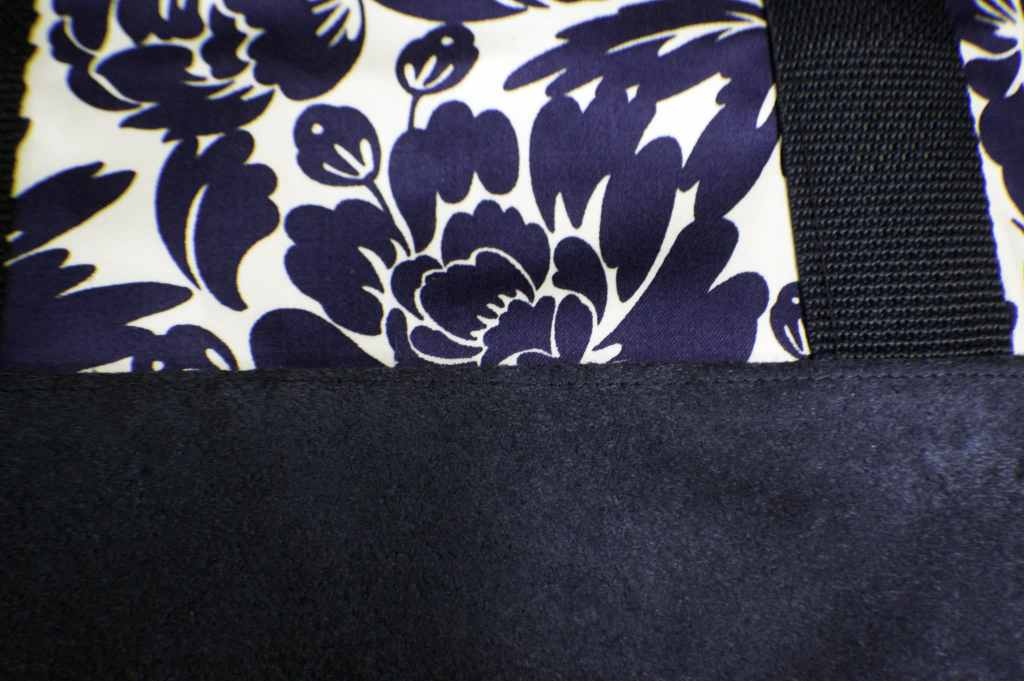 Top-Stitch-Along-the-Seam-1024x681 Sew a Basic Tote Using Remnants