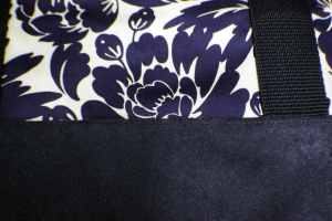 Top-Stitch-Along-the-Seam-300x200 Sew a Basic Tote Using Remnants