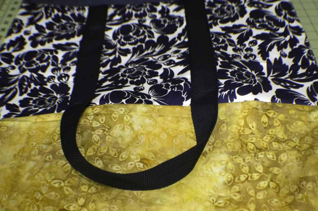 Turn-the-Bag-1024x681 Sew a Basic Tote Using Remnants