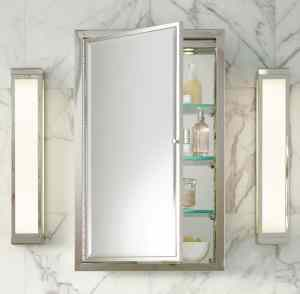 Medicine-cabinet-from-Restoration-Hardware-1-300x294 16 Organizing Tips