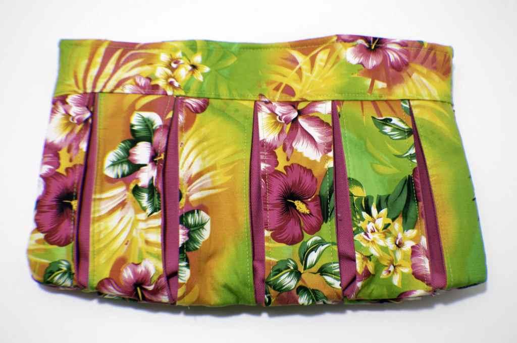 Finished-Bag-1024x681 Pleated Clutch Handbag Tutorial